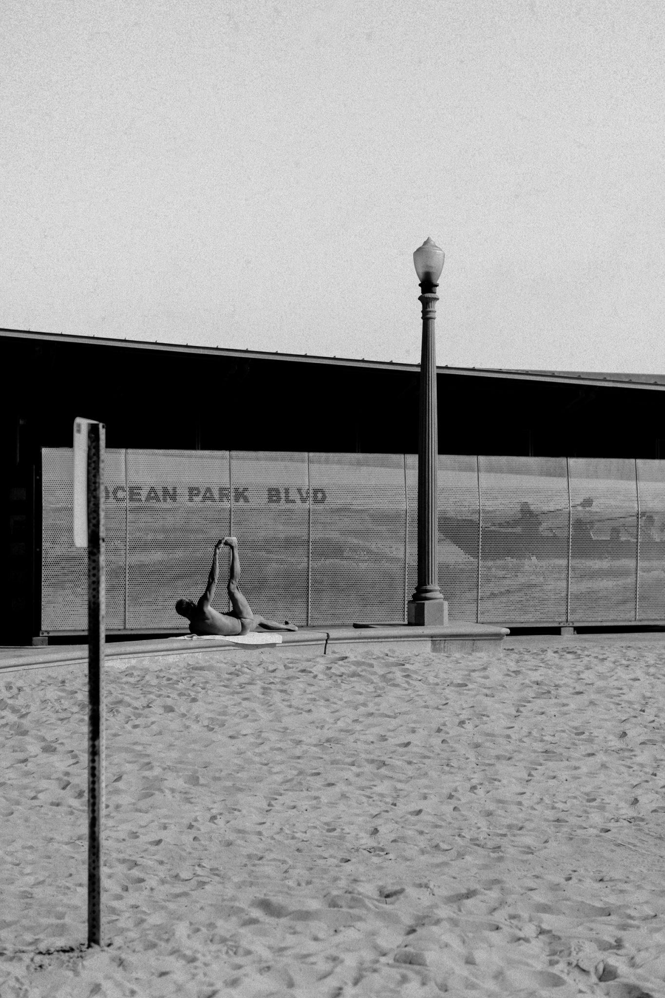ocean park blvd man