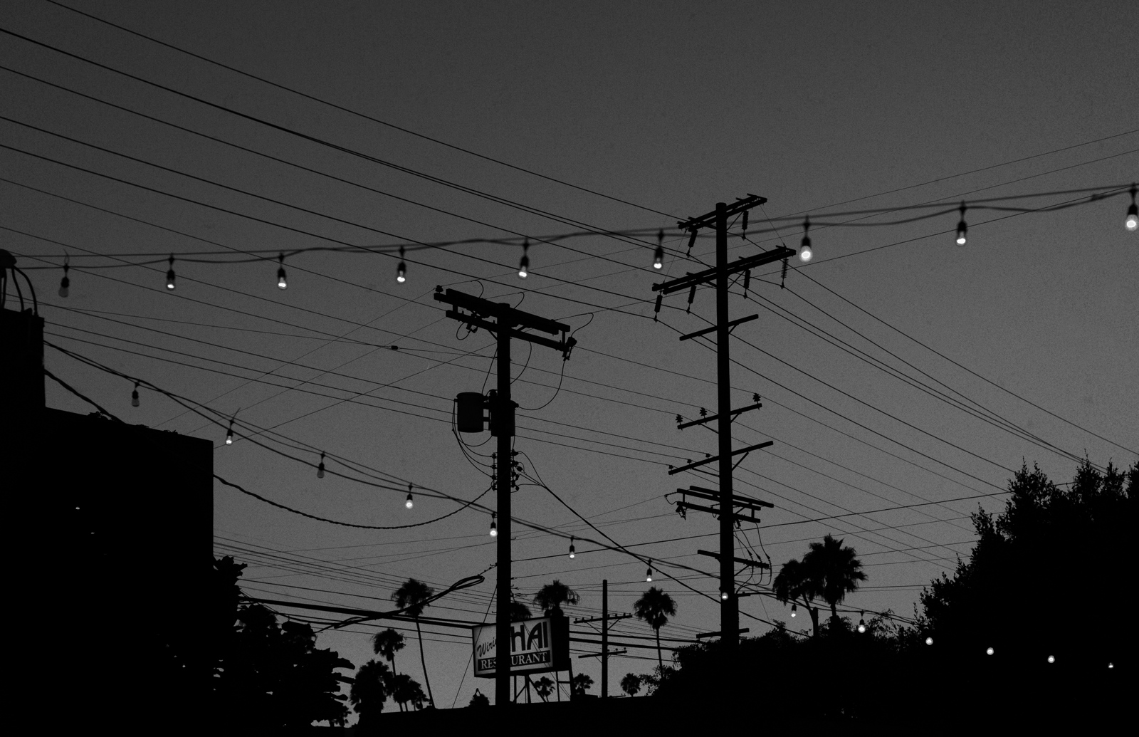 night light in los angeles