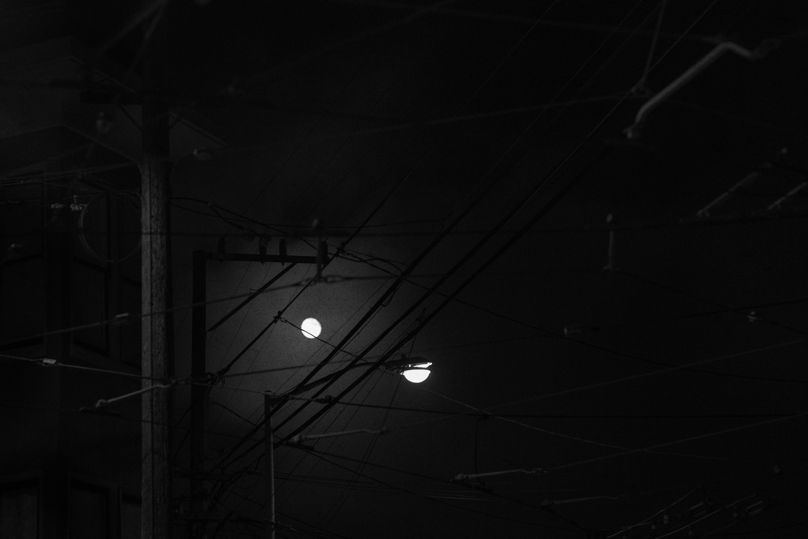 wires in the night