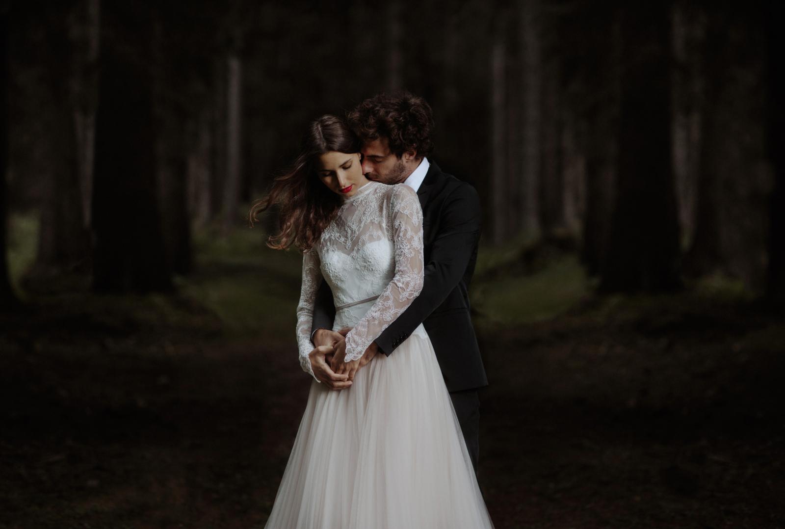 bride held