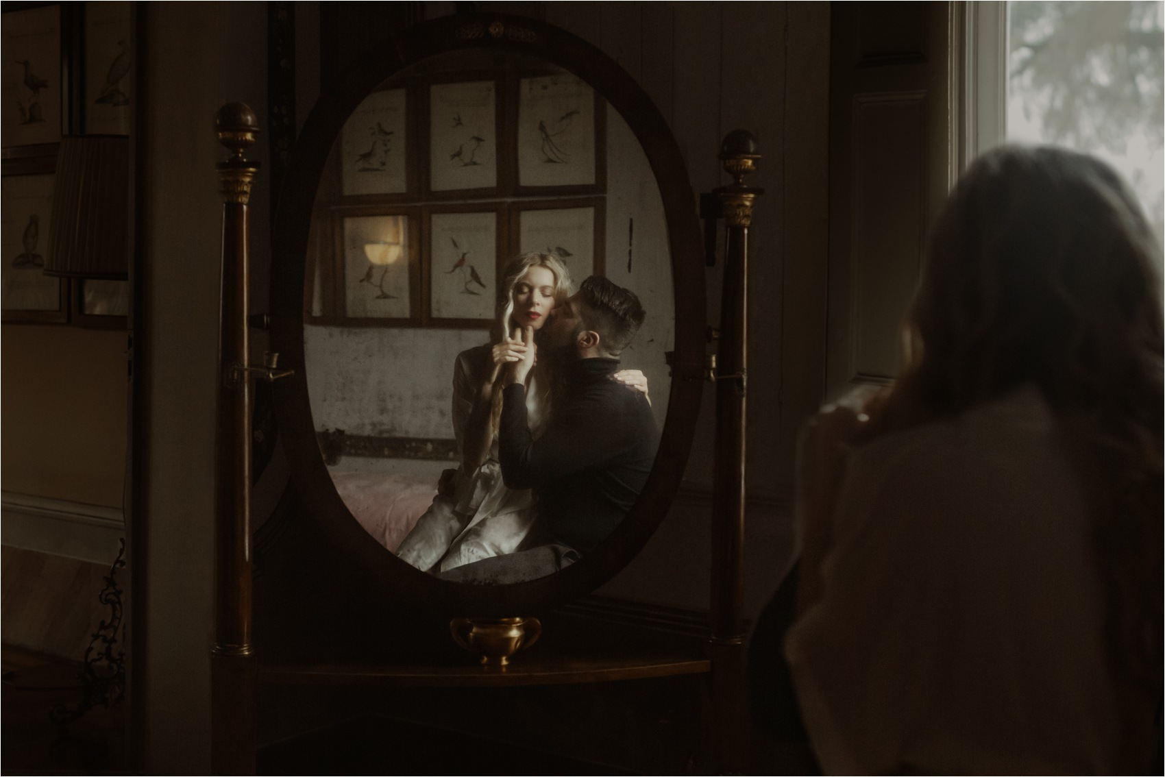 intimate moment mirror