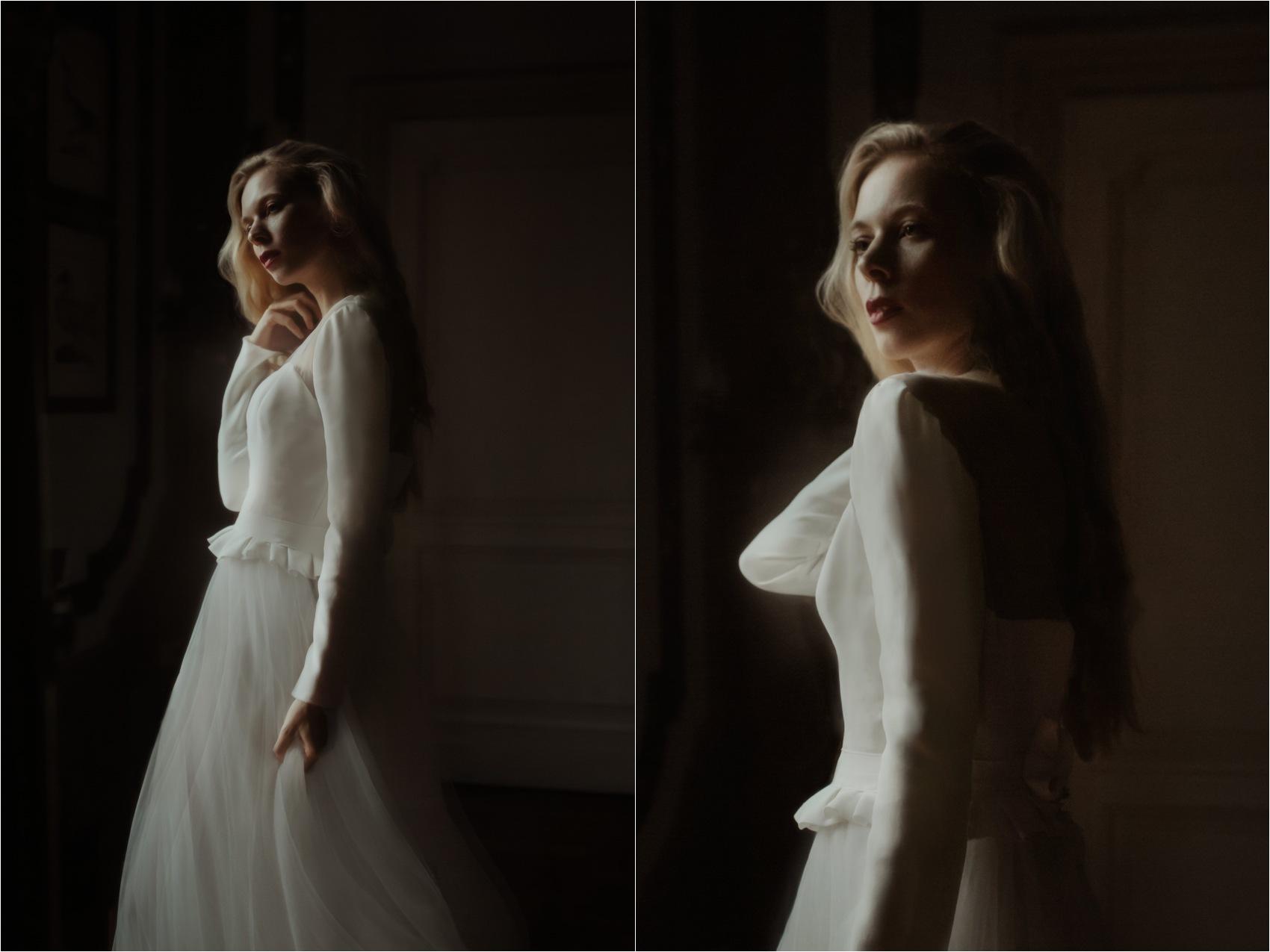 bride dress details