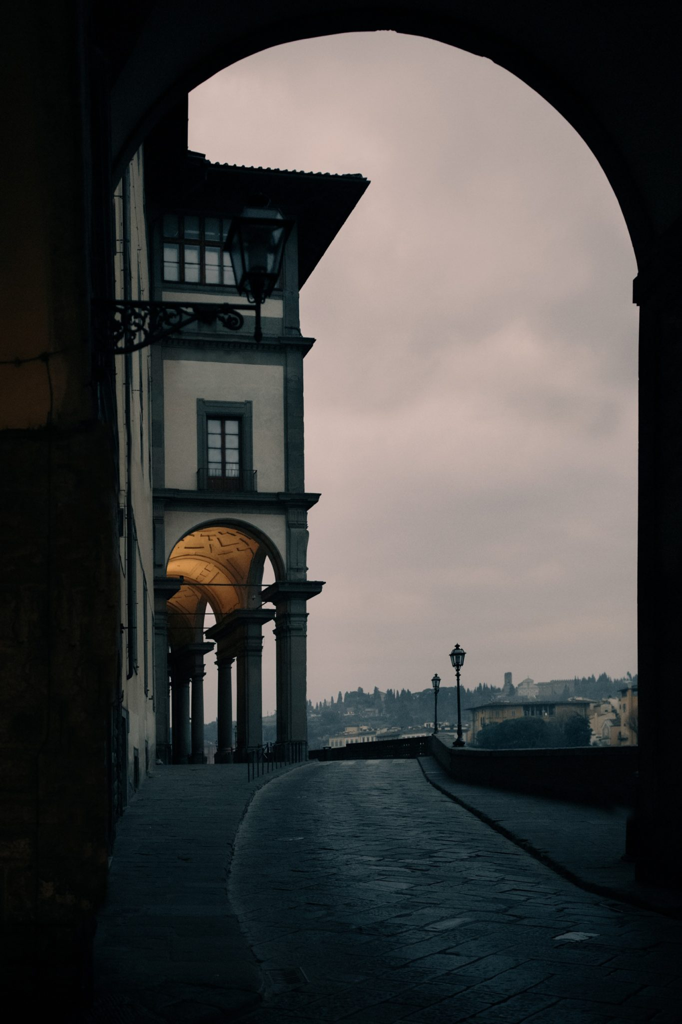 sunrise in florence