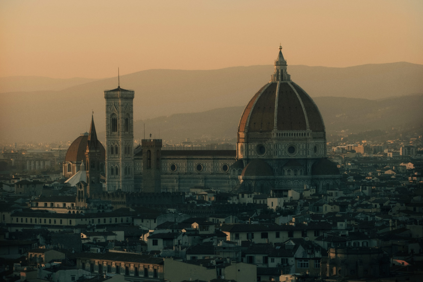 florence duome sunset